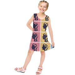Question Face Think Kids  Tunic Dress