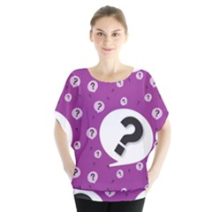 Question Mark Sign Blouse