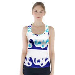 Water Racer Back Sports Top