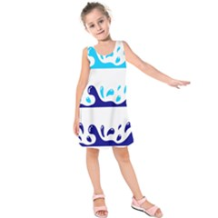 Water Kids  Sleeveless Dress