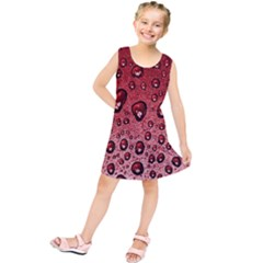 Red Water Kids  Tunic Dress