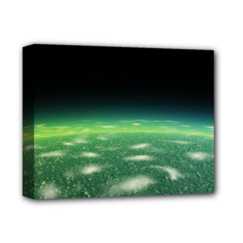 Alien Orbit Deluxe Canvas 14  X 11