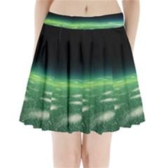 Alien Orbit Pleated Mini Skirt