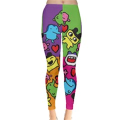 Cartoon Pattern Leggings
