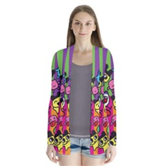 Cartoon Pattern Cardigans