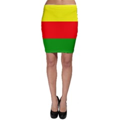 Kurdistan Kurd Kurds Kurdish Flag Bodycon Skirt