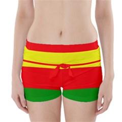 Kurdistan Kurd Kurds Kurdish Flag Boyleg Bikini Wrap Bottoms