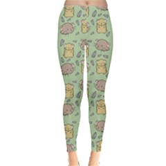 Hamster Pattern Leggings