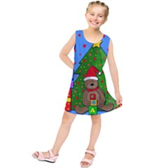 Xmas Gifts Kids  Tunic Dress