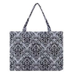 DMS1 BK-GY MARBLE (R) Medium Tote Bag