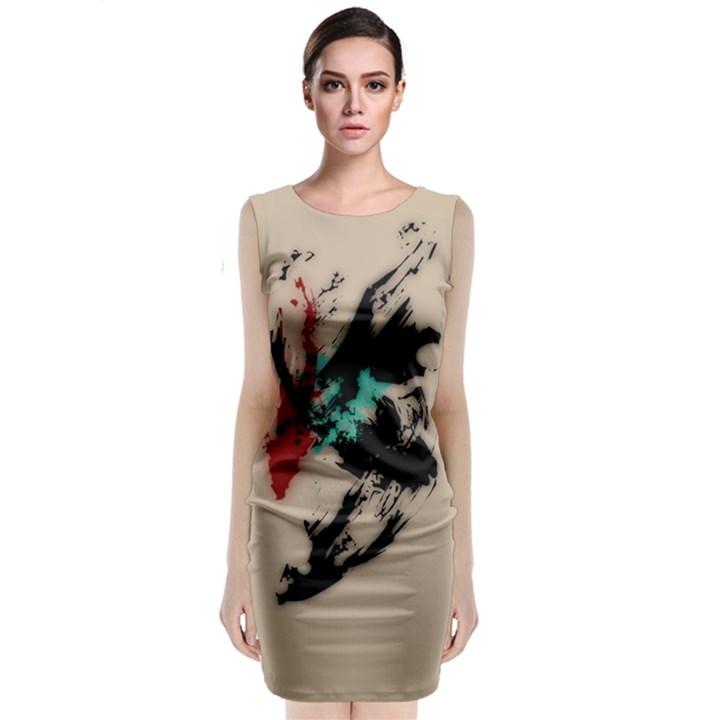 Breathe in Bold MIDI Dress
