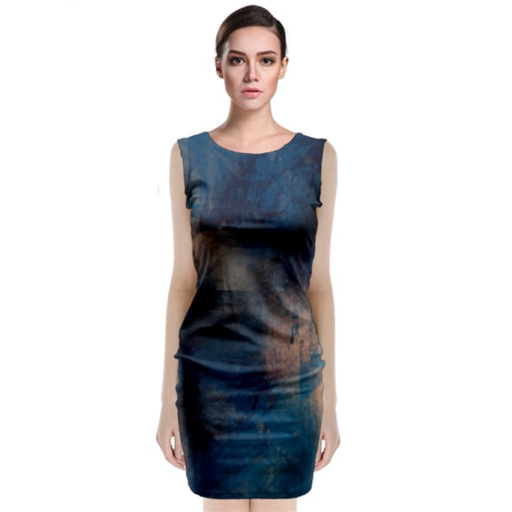 BlueTech Midi Dress