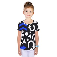 Right Direction   Blue  Kids  One Piece Tee