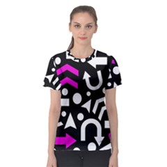 Right Direction   Magenta Women s Sport Mesh Tee