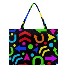 Right direction - Colorful Medium Tote Bag