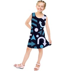 Cyan Direction  Kids  Tunic Dress