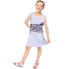 German Wirehaired Pointer Silo Color Kids  Tunic Dress