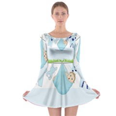 Baby Boy Clothes Line Long Sleeve Skater Dress