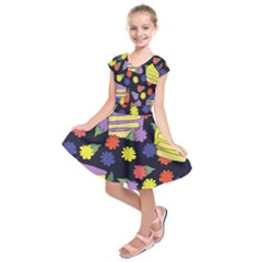 Cake Lover Kids  Short Sleeve Dress