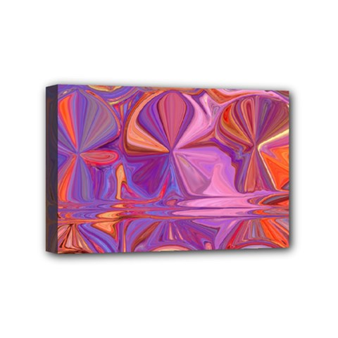 Candy Abstract Pink, Purple, Orange Mini Canvas 6  x 4