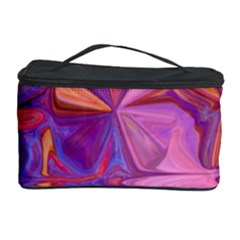 Candy Abstract Pink, Purple, Orange Cosmetic Storage Case