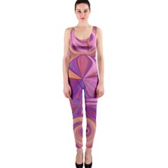 Candy Abstract Pink, Purple, Orange Onepiece Catsuit