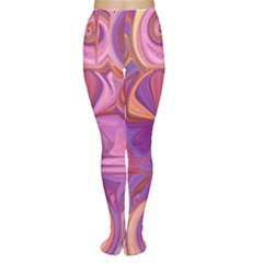 Candy Abstract Pink, Purple, Orange Women s Tights