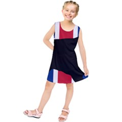 English Cocker Spaniel Silhouette United Kingdom Kids  Tunic Dress