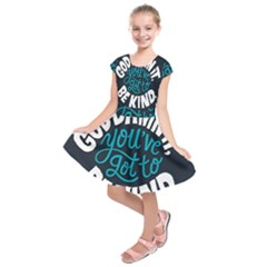 Be Kind Kids  Short Sleeve Dress