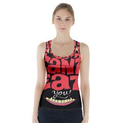 Cant Eat Racer Back Sports Top