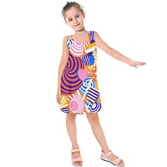 Canddy Color Kids  Sleeveless Dress