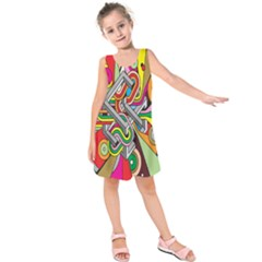 Code Kids  Sleeveless Dress