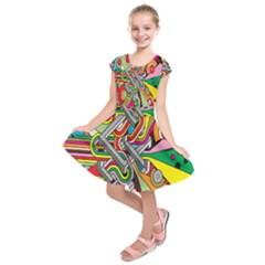 Code Kids  Short Sleeve Dress