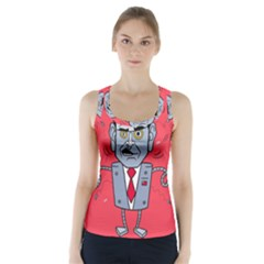Monster Rubiobot Racer Back Sports Top