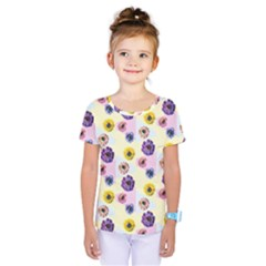 Monster Eye Flower Kids  One Piece Tee