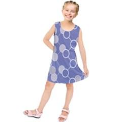 Round Blue Kids  Tunic Dress