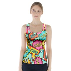 Sale Prise Disc Racer Back Sports Top