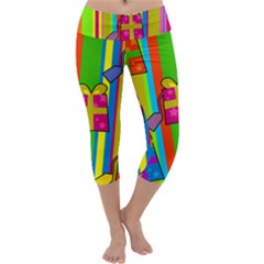 Holiday Gifts Capri Yoga Leggings