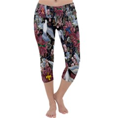 Quilt Capri Yoga Leggings