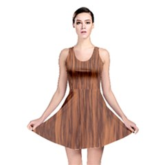 Texture Tileable Seamless Wood Reversible Skater Dress