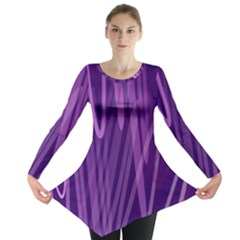 The Background Design Long Sleeve Tunic