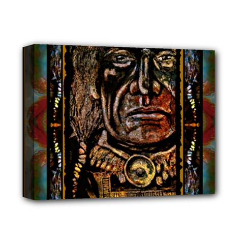 CHIEF MONTAGE Deluxe Canvas 14  x 11  (Framed)