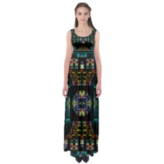 Another Point Of View Empire Waist Maxi Dress