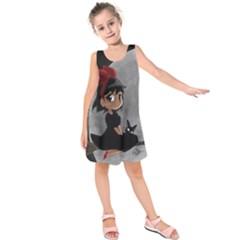 Kiki4nab16 Kids  Sleeveless Dress