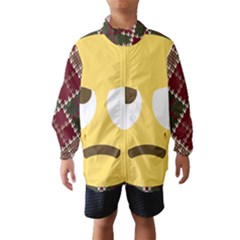 34174678 Xxl 1f644 1f644b 1s Wind Breaker (Kids)