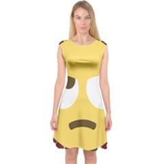 34174678 Xxl 1f644 1f644b 1s Capsleeve Midi Dress