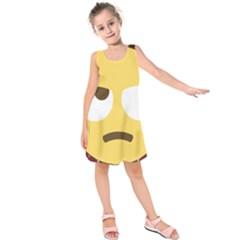 34174678 Xxl 1f644 1f644b 1s Kids  Sleeveless Dress