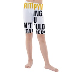 It a Copywriting Thing, you wouldn t understand Kids  Mid Length Swim Shorts