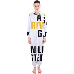It a Copywriting Thing, you wouldn t understand Hooded Jumpsuit (Ladies)