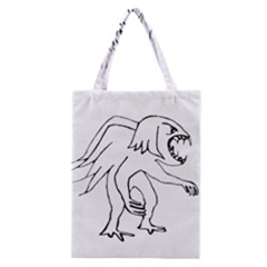 Monster Bird Drawing Classic Tote Bag